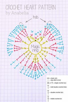 Corazon de crochet de Anabelia craft&desing