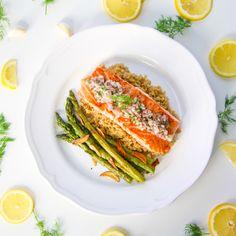 Salmon Quinoa Asparagus