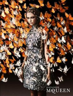 Alexander McQueen Spring 2011 Ad Campaign