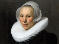 Nicolaes Eliasz. Pickenoy (c1591-1653-56) - Portrait of a woman, 1626 : detail!