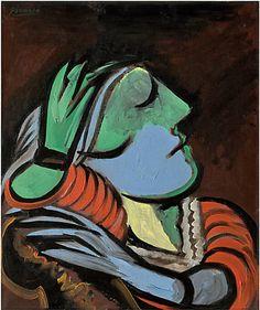 Lot 32 Picasso -- Femme endormie