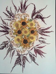 Pressed+Flower+Art+on+8+x+10+Hard+Board+Maple+by+FlowerFelicity,+$21.99