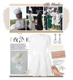 """""""The Duchess of Cambridge at Royal Ascot in Alexander McQueen"""" by mf-fashion-and-styling-perth ❤ liked on Polyvore featuring Alexander McQueen, Gianvito Rossi, Wessex, Loeffler Randall, AlexanderMcQueen, katemiddleton and duchessofcambridge"""