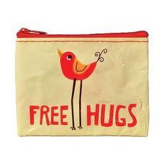 Porte-monnaie Free Hugs   Portefeuilles, porte-monnaies   Accessoires de mode   Pivoine et Tapioca