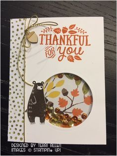 Thankful Forest Friends, Stampin' Up!