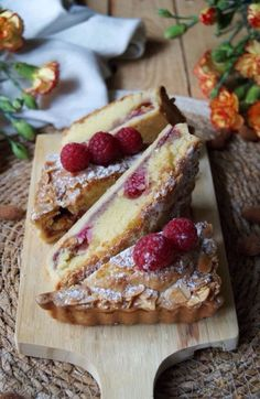Best Italian Recipes, Favorite Recipes, Nut Free, Dairy Free, Frangipane Tart, Raspberry Tarts, Recipe Boards, Sugar Free, French Toast