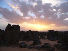 Maghidet desert, Lybie