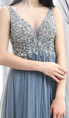 cd1408a7a97 The material of this charming prom dress is tulle