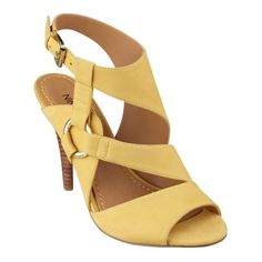 """As seen in the January and March Essence, our Lezetta ankle strap sandals are, in a word, extraordinary. Golden metal hardware that brings it all together. Adjustable ankle strap. And just look at all the colors! Buckle closure. Padded footbed for all-day comfort. Leather or Nubuck leather upper. Imported. 3 3/4"""" heel."""
