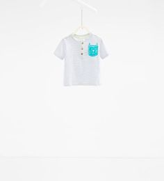 Image 1 de T-shirt imprimé chat de Zara