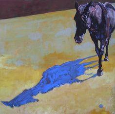 Equine Artist: Kathi Peters on Cavalcade