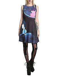HOTTOPIC.COM - Disney Alice In Wonderland Cheshire Cat Dress