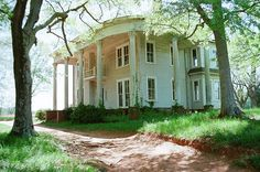 the abandoned Nolan Plantation House... need to go see this.