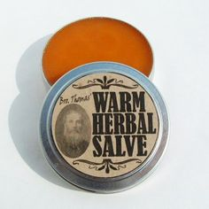 Muscle Rub Balm Salve for Aches Pains Joints Warming Spices & Oils | appalachianheritagesoaps - Bath & Beauty on ArtFire