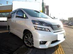 Toyota vellfire 2.4Z Platinum Selection II 2011 ANH20W FOB Price JPY:3310000