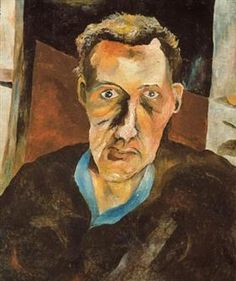 Lucian Freud - Stephen Spender, 1940
