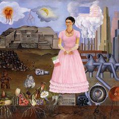 cette oeuvre de frida kahlo résume parfaitement le contexte électoral américain