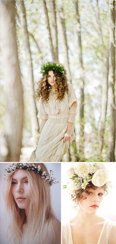 Flowers in you hair = romantic