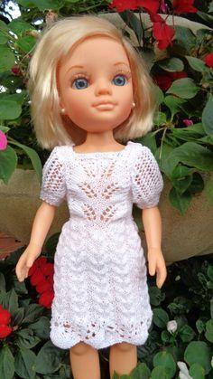 Robe de cérémonie pour Nancy... - Bouh de laine et chant de coton