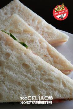 Pan de miga para celíacos: receta fácil sin gluten (sin TACC) y sin lactosa Gluten Free Recipes, Bread Recipes, Keto Recipes, Easy Bread, Zucchini Bread, Grain Free, Free Food, Sandwiches, Paleo