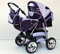 Big beautiful Purple pram for sale