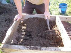 Screen Compost Now to Make Your Own Seed Compost for Spring