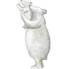 Muursticker IJsberen