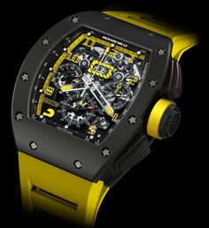 Richard Mille RM011 CARBON Case USA #F1 #Grand Prix coming to Texas this year!