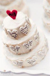 {Bridal Cake} Unique is this wedding cake #bridal #wedding #cake #weddingcake