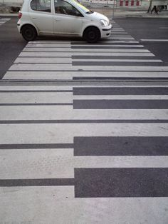 bumbychoice: A pedestrian crossing in Warsaw. Pedestrian Crossing, Zebra Crossing, Street Background, Cross Art, White Zebra, Creative Advertising, Texture Design, Urban Landscape, Street Photography
