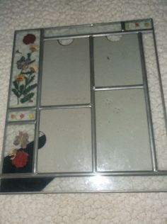 $5.99 Pewter Pressed Dried Flowers Picture PHOTO FRAME 11 x 9.5 Vintage Collage Art in Collectibles, Decorative Collectibles, Frames | eBay