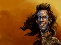 Mel Gibson as William Wallace by Adrian Lubbers