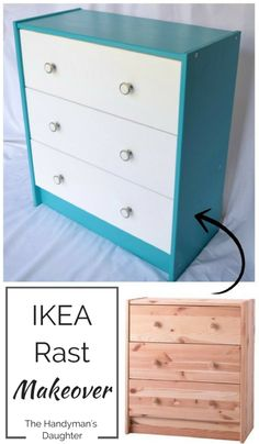 Transform a basic pine dresser into a cheerful piece that will brighten any…