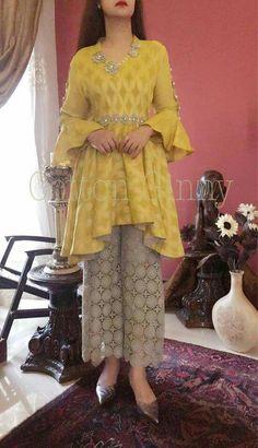 Best 12 AfricanKidsFashion TopKidsClothingBrands is part of Frock style kurti - Designer Party Wear Dresses, Kurti Designs Party Wear, Indian Designer Outfits, Indian Outfits, Pakistani Dresses Casual, Indian Gowns Dresses, Pakistani Dress Design, Party Wear Indian Dresses, Pakistani Fashion Casual