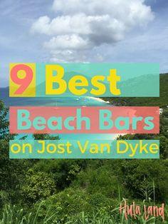 The 9 Best Beach Bars on Jost Van Dyke - Hulaland