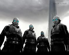 Combine Soldiers from Half-Life 2