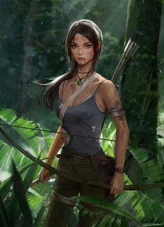 lara croft fanart Cosplay - -You can find Cosplay and more on our website. Costume Lara Croft, Lara Croft Outfit, Lara Croft Angelina Jolie, Tomb Raider Lara Croft, Tomb Raider Cosplay, Fantasy Women, Fantasy Girl, Wallpaper Lara Croft, Natural Hair Art