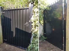 Following drug issues in an alleway leading to the rear of a private property in Richmond, the Police recommended a heavy duty security gate to block access, thus eliminating this headache. Our RSG3200 Security Gate saved our elderly couple a lot of stress and hassle, giving them not only the peace of mind they deserved but also leaving them very satisfied with the professional work from our RSG Installation Team! A big KUDOS to them 👍! Keep up the good work ❤ Security Gates, Elderly Couples, Private Property, Police, Stress, Outdoor Structures, Big, Outdoor Decor, Safety Gates