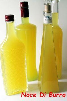 Limoncello, ricetta liquore Noce Di Burro