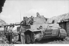 Panzerkampfwagen VI Tiger (8,8 cm L/56) Ausf. E (Sd.Kfz. 181) Nr. 334 | Flickr - Photo Sharing!