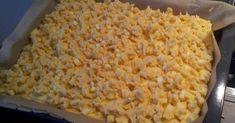 Blechapfelkuchen mit Butterstreusel, ein Rezept der Kategorie Backen süß. Mehr Thermomix ® Rezepte auf www.rezeptwelt.de