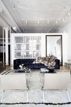 sofá de veludo | Decorismo