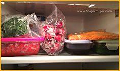 Tips para ganar tiempo en la cocina.