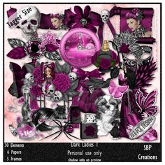 SBP Creations: Dark Ladies 1