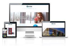 Diseño y creación de la página web de Hermetika, una empresa de Sevilla especializada en aislamientos térmico y confort en el hogar.