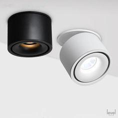 Modern Spot Lights, Modern Recessed Lighting, Modern Lighting Design, Lighting Concepts, Modern Ceiling, Task Lighting, Ceiling Spotlights, Recessed Ceiling, Led Ceiling Lights