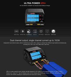 Cargador Ultra Power UP6+ Smart Watch, Charger, Usb, Radio Control, Smartwatch