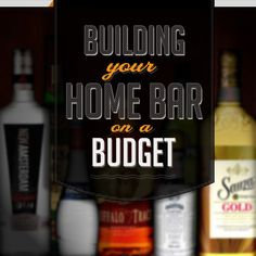 Pretty good article on setting up a well stocked home bar.  I've got most of the basics already so I'm not too far off.