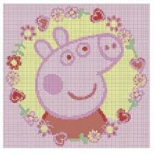 Image result for knitting chart kids peppa