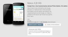 Nexus 7 (2013) ya a la venta en España y Nexus 4 rebajado 100€  http://www.android.com.gt/nexus-7-2013-ya-a-la-venta-en-espana-y-nexus-4-rebajado-100e#.Uh24i9IyJ0Q